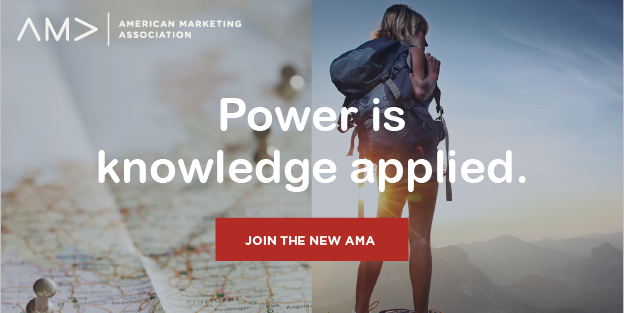 AMA Membership Offer Side Ad