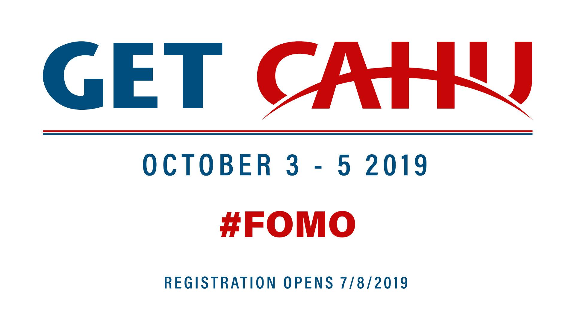 2019 Get CAHU Promo