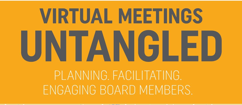 virtual meetings ebook
