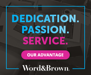 Word Brown Ad 1