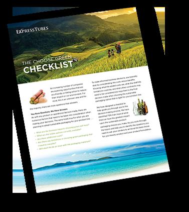 Choose Green Checklist