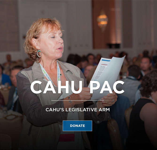 CAHU PAC Side Ad