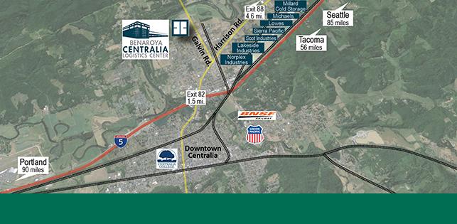 Benaroya Centralia Logistics Center