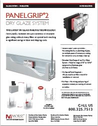 PanelGrip®2 Dry Glaze System Data Sheet