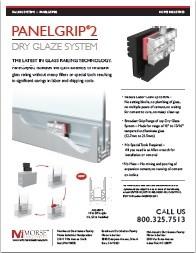 PanelGrip® Dry Glaze System Data Sheet