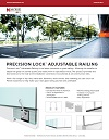 Precision Lock Adjustable Railing Brochure