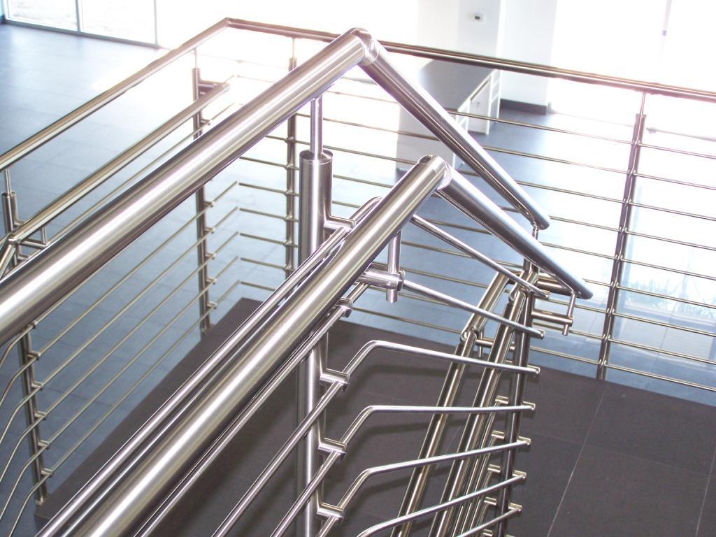 Morse Industries l Stainless Steel Handrail Kits & Glass Rail ...