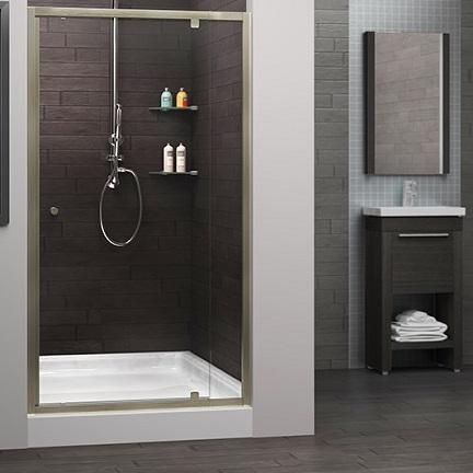 Cascade Shower Door System Pivot Door