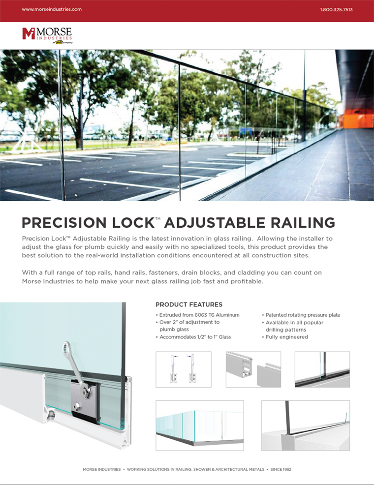 Precision Lock Adjustable Railing Ad