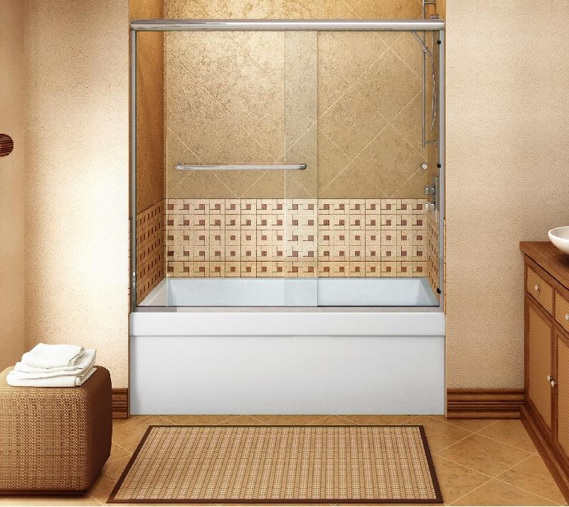 Cascade Shower Door System Slider Door