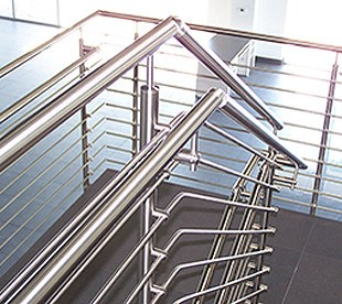 Morse Industries L Stainless Steel Handrail Kits Gl Rail