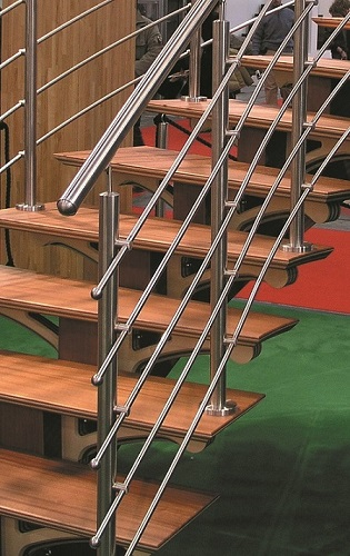 Stainless Steel Rod Handrail Systems Wholesale Stair